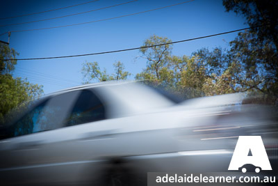 Learning How to Drive Adelaide Speeding